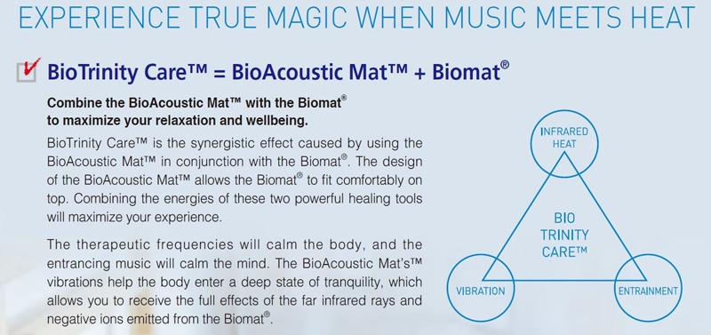 BioMat BioAcoustic Mat with biomat