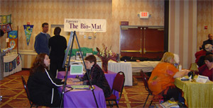 Bio-Mat.com at the Holistic Health Expo in Sacramento, CA January 2006